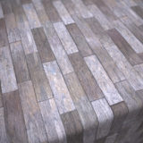 Old Abandoned Building Wood Plank Flooring PBR Material #1