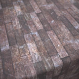 Old Abandoned Building Wood Plank Flooring PBR Material #3