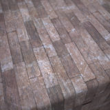 Old Abandoned Building Wood Plank Flooring PBR Material #4