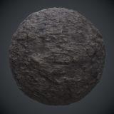Rough Rockface #1 PBR Material