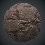 Sliced Rock PBR Material