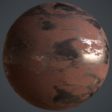 Rusted Iron PBR Metal Material
