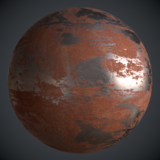 Rusted Iron PBR Metal Material Alt