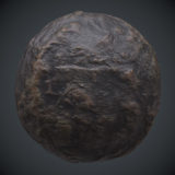 Water Worn Stone 1 PBR Material