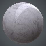 Polished Speckled Marble Top PBR Material