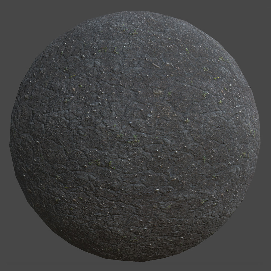 Dry Dirt PBR Material - Free PBR Materials