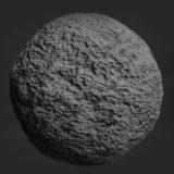 Lunar Rock PBR Material