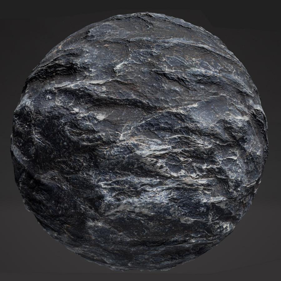 Slate Rock #2 PBR Material - Free PBR Materials