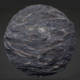 Slate Cliff Rock PBR Material