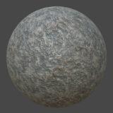 Grey Granite Rockface PBR Material
