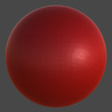 Grid Textured Plastic PBR Material