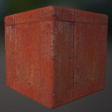Rusted Panel PBR Material