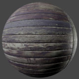 Aged Wood Planks PBR Material