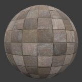 Stone Tile 4 PBR Material