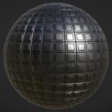 Metal Grid Pattern PBR Material