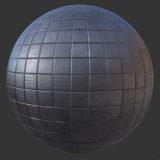 Metal Grid Squared Panel PBR Material