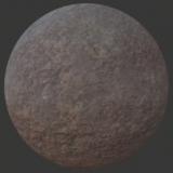 Rocky Worn Ground PBR Material