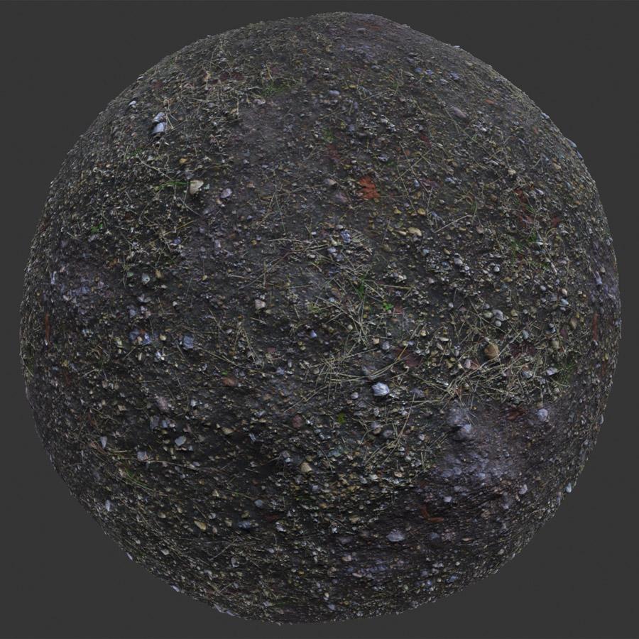 Rocky Dirt PBR Material