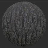 Oak Tree Bark PBR Material