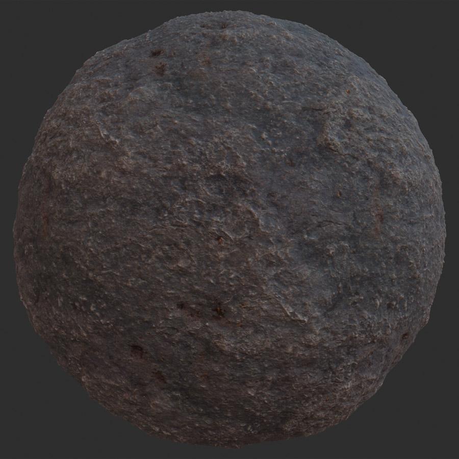 Light Bumped Rock PBR Material