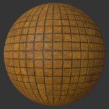 Damp Tile PBR Material