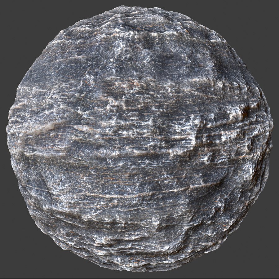 Layered Rock 1 PBR Material