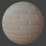 Modern Brick Wall 1 PBR Material