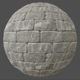 Gray Bricks 1 PBR Material