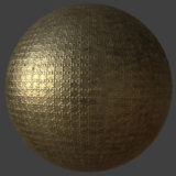 Ornate Brass 2 PBR Material