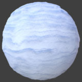 Snow Drift PBR Material