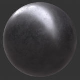Pitted Metal 1 PBR Material
