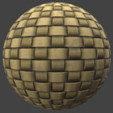 Simple Basket Weave PBR Material