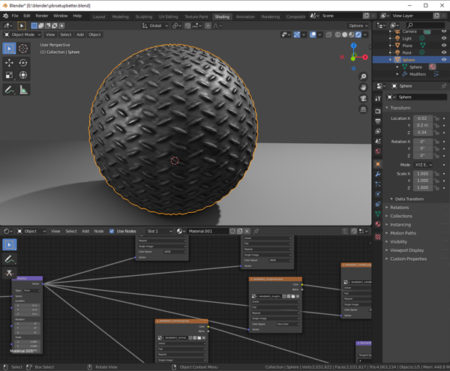 Free Blender PBR Texture Set in Cycles