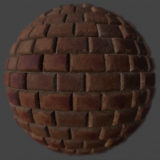 Red Brick 2 PBR Material
