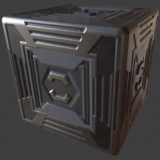 Space Crate 1 PBR Material