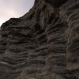 Layered Cliff PBR Material