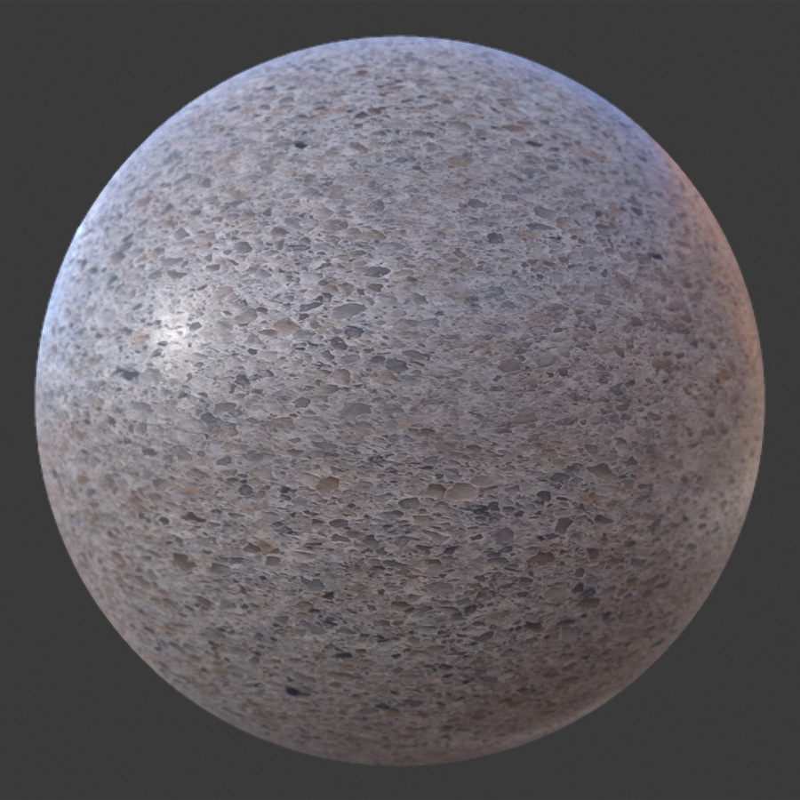 Pebbled-Counter-PBR-Material