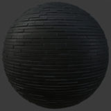 Industrial Narrow Brick PBR Material