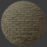 Narrow Brick 1 PBR Material
