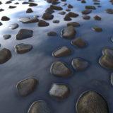 Rocky Shoreline PBR Material