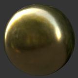 Light Gold PBR Metal Material