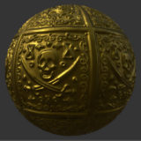 Pirate Gold PBR Metal Material