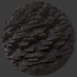 Stylized Cliff 1 PBR Material