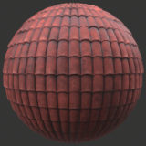 Clay Shingles 1 PBR Material