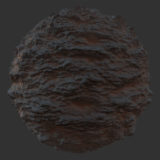 Desert Cliff PBR Material