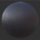 Vertical Lined Metal PBR Material