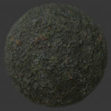 Mossy Mud 1 PBR Material