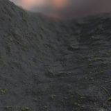 Mud with Vegetation PBR Material
