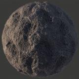 Lunar Rock 2 PBR Material