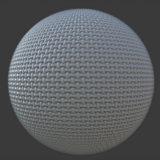 Crisscross Foam PBR Material